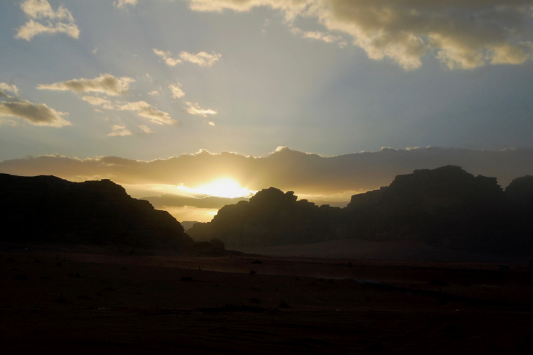 Molly Bendell Travel Photography Sunset in Wadi Rum