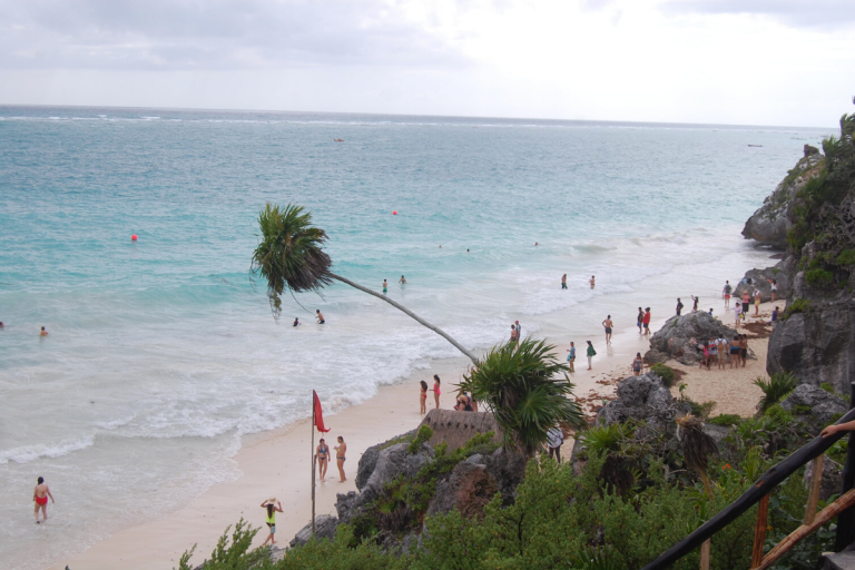 Molly Bendell Travel Nature Photography Tulum Mexico Beach