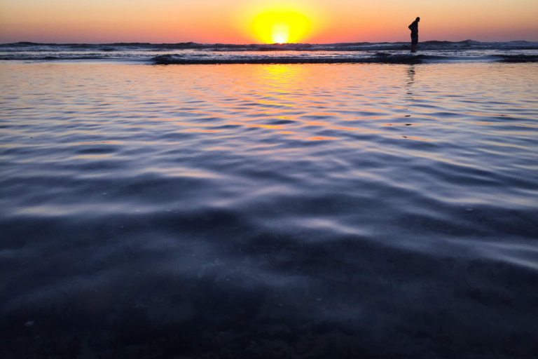 Southern California Ocean Sunset Molly Bendell Photography
